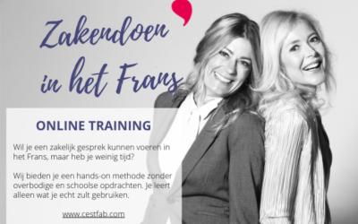 Online Training : Zakendoen in het Frans