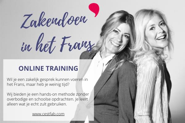 Online Training Zakendoen in het Frans